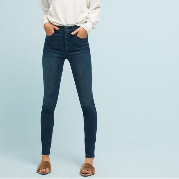 convenience goods hot product Clearance sale Anthropologie Pilco Ultra High Rise Skinny Jeans